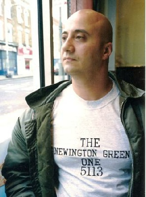 Erkin Guney following his release in May 2003